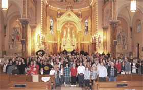 Parish group photo