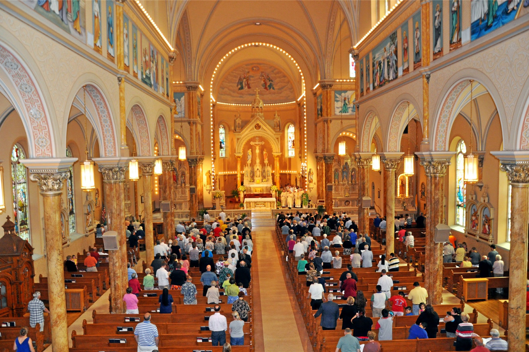 Inside of St. Anthony of Padua Church