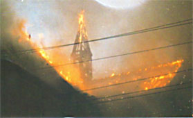 St. Anthony of Padua Church fire
