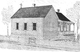Sketch of St. Anthony of Padua Church